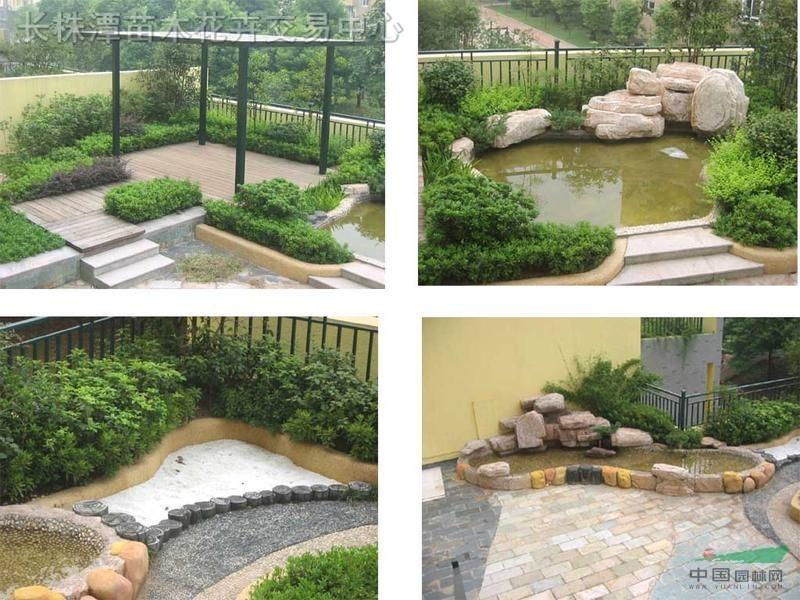 承接庭院,别墅,园林绿化设计,屋顶花园绿化