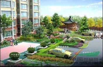 甘肃住宅区园林景观设计/广场景观规划设计