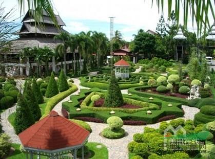 景观植物种植设计图