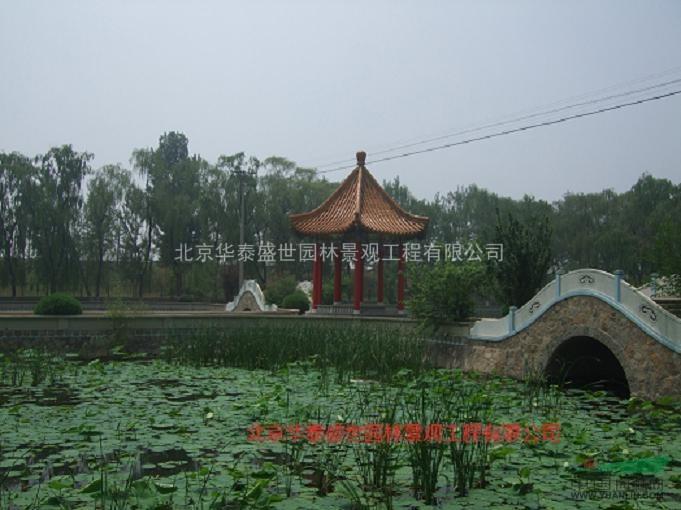园林景观设计施工 绿色生态园
