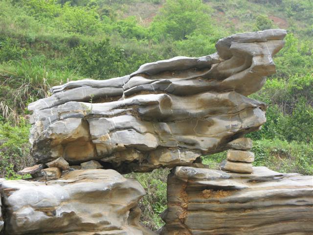 千层石 假山 浙江江南山水园林景观石业公司 景观石供应