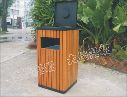 成套景观座椅垃圾桶