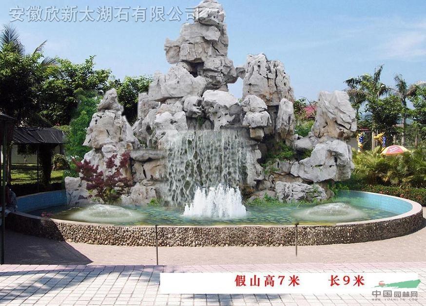 安徽/太湖石太湖石假山鱼池