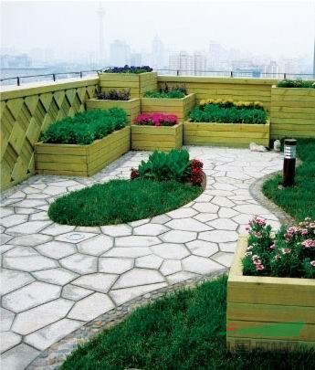 屋顶花园景观3