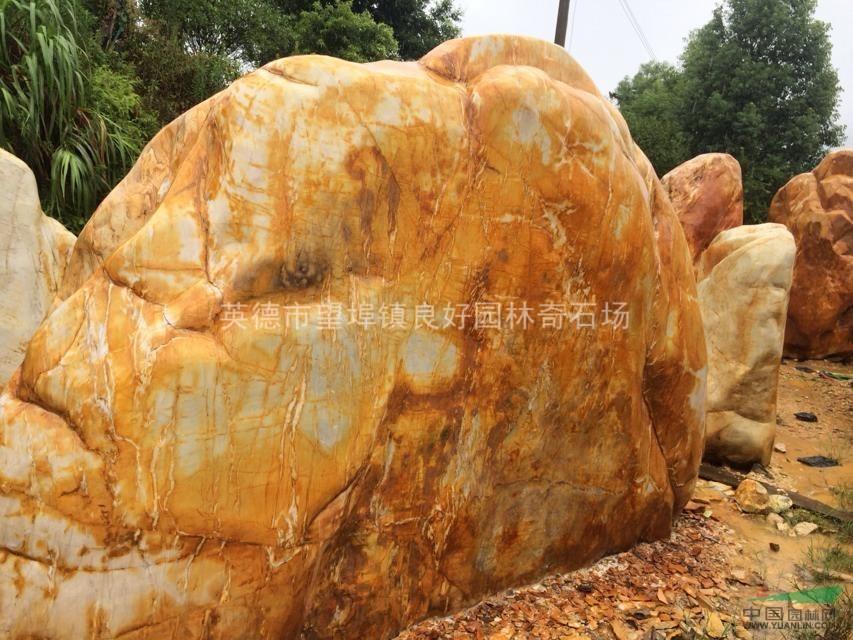 直销东南亚景观美石x13,优质园林风景石批发基地,黄蜡石总销