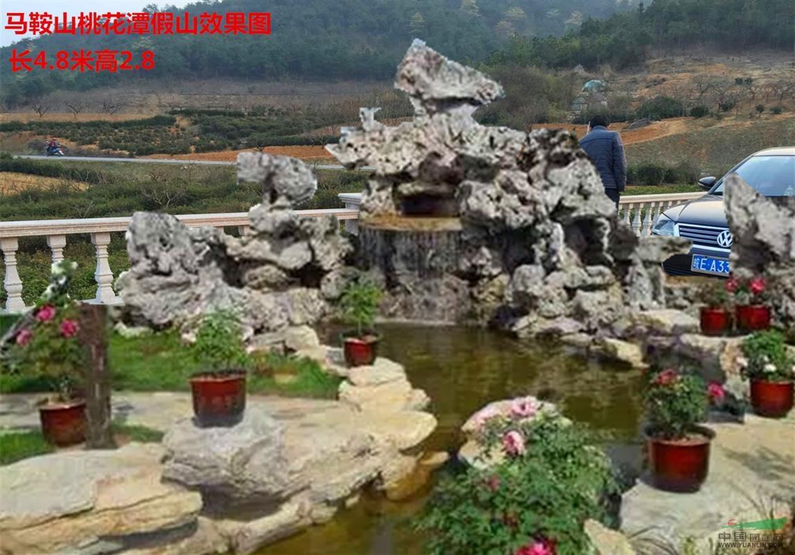 安徽省专业假山制作 室内假山 假山鱼池
