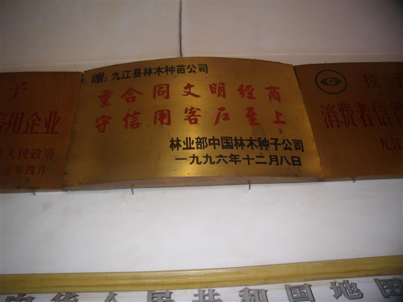 九江县林木种苗有限公司