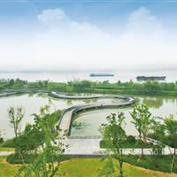 南京·浦口新城滨江风光带