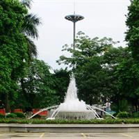 港口镇政府喷泉