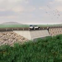 湿地博物馆至寺下水闸景观道路 设计概况和设计理念