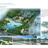 高安市瑞阳湖广场及瑞阳湖连绵河景观设计