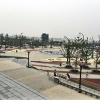 砀山县高铁站前广场景观工程
