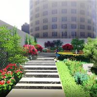 河南天地粤海酒店屋顶绿化项目