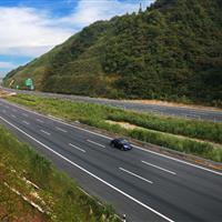广河高速照边坡绿化施工