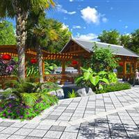 弥勒市敬老院景观设计图