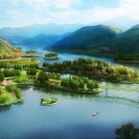 重庆铜梁玄天湖景观设计