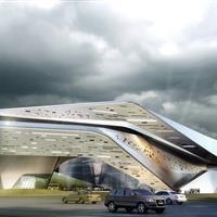 恩平展览馆-甲级建筑设计