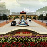 河南省兆隆金盾小区景观设计