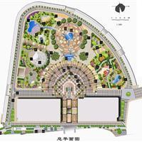 四川华莹市花园坝广场景观设计