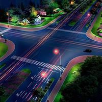 天津滨海新区南部道路绿化景观提升工程