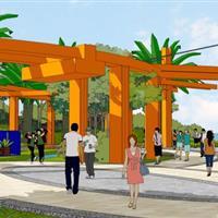 广西园林园艺博览会-贵港展园