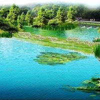大理茫涌溪环海东路绿色流域建设