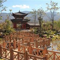 南涧县涧北公园园林工程实景1
