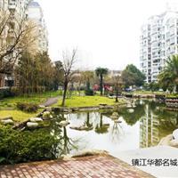 镇江华都名城景观绿化工程