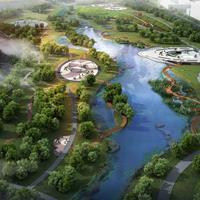 牡丹江中俄科技信息产业园兴隆公园设计